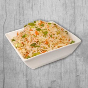 Veg Fried Rice with Manchurian Milkbar