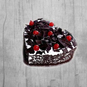Heart Black Forest Cake 1 Kg