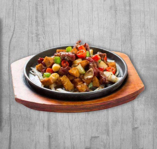 Vegetarian Chinese Thali